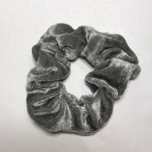 A velvet Scrunchie